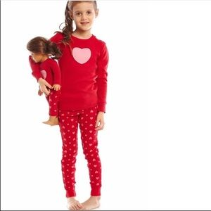 Leveret PJ Matching Doll Set
